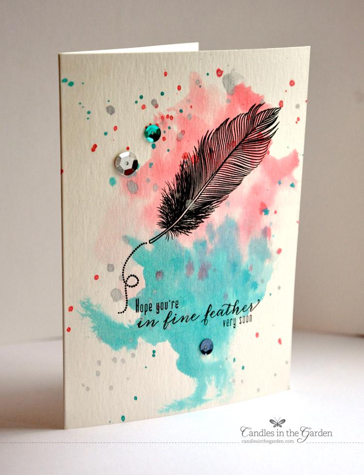 Пресвятой, маленькие акварельные открытки