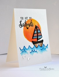 ©Candles in the Garden. Neat and Tangled JUL14 Release - Day 2. Sailmates.