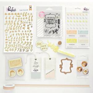Pinkfresh Studio May Embellishment Kit