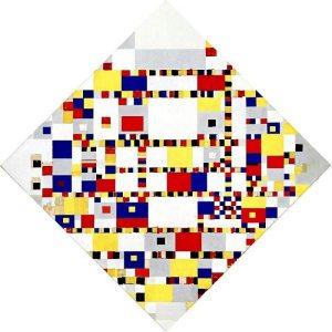 Piet Mondrian. Victory Boogie-Woogie, 1944