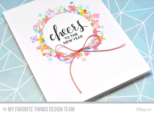 ©Candles in the Garden. MFT October Release Countdown Day 4. Santa's Elves, Trim the Tree and Hand Lettered Holiday stamp sets.