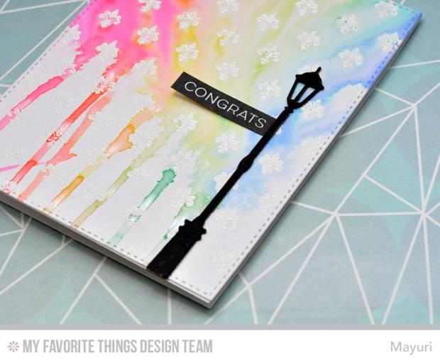 ©Candles in the Garden. MFT September Release New Product Launch - Fleur de Lis Background.