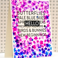 Neat & Tangled March Release, Day 1: Hello Spring